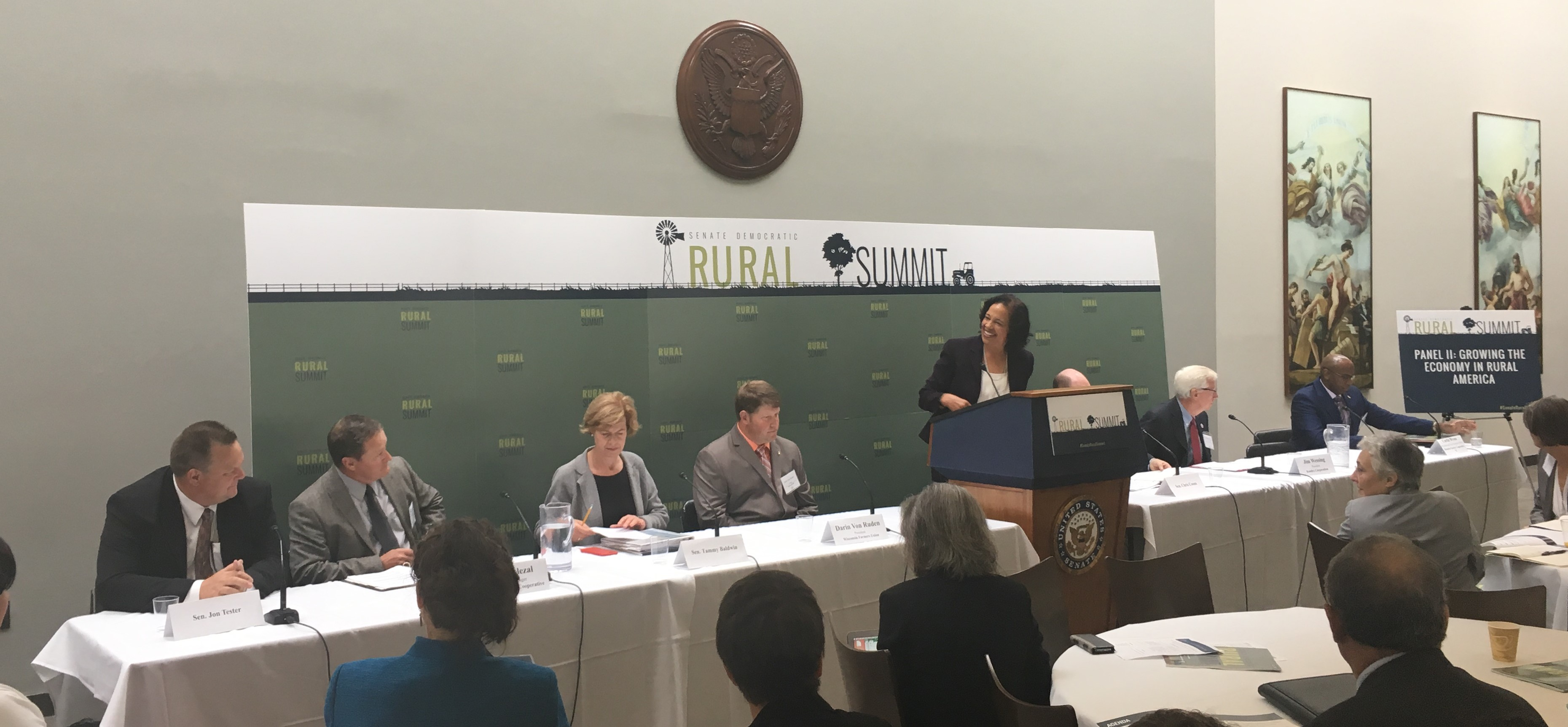 Photo of Senate Rural Summit